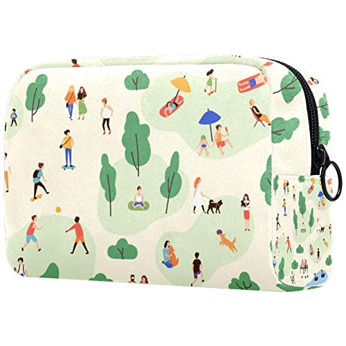 Camping Make-up Bag Toilettas voor Vrouwen Skincare Cosmetische Handy Pouch Rits Handtas