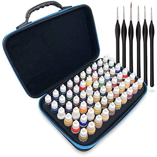 Pixiss Model Paint Storage Case Acrylic Paint...