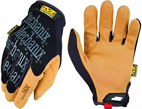 Mechanix RM-MATERIAL4X_L Material4X Schutzhandschuhe, Schwarz-Honig, L Größe