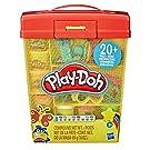 Play Doh - Gran Set de Actividades con más de 20 Herramientas, Caja para Guardar y 8 Colores para niños de 3 años en adelante