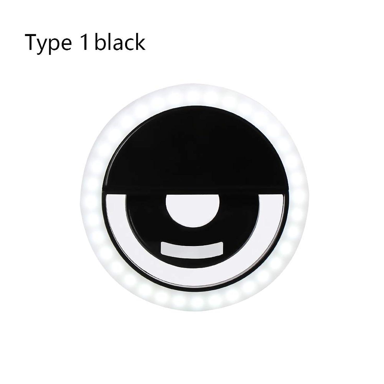 Mini Flash Universal Portable Clip-On LED Fill Light Speedlite Selfie Circle Lamp Universal