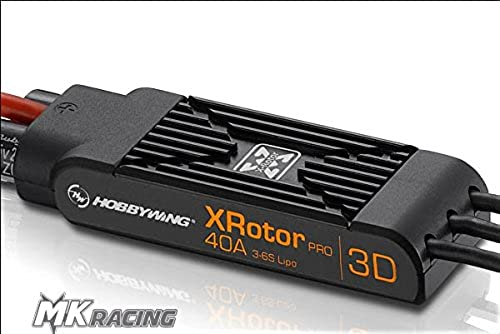 liquidación hasta el 70% HOBBYWING XrojoOR PRO 40A 3D 3D 3D WIRE LEADED DUAL PACK SPEED CONTROLLER  ahorra hasta un 80%