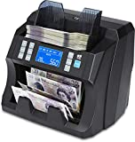 ZZap NC25 Banknote Counter & Counterfeit Detector - Money Cash Currency Machine