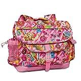 Bixbee Kids Backpack Funtastical Pink School Bag for Children, Medium