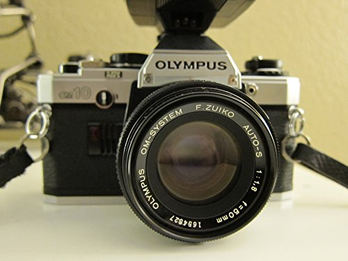 Olympus OM-10 OM10 35mm Manual Focus Film Camera And Lens Combo