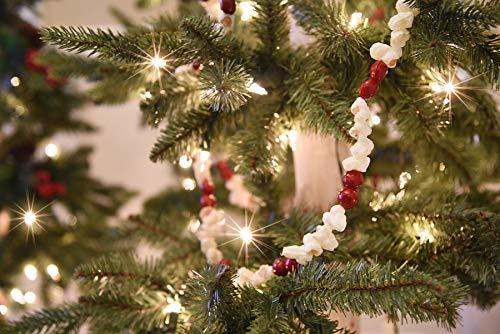 vintage style christmas tree garland