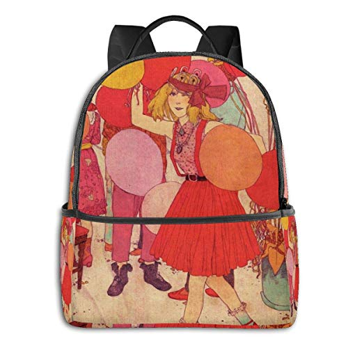 IUBBKI Birthday Party Student School Bag School Cycling Leisure Travel Camping Outdoor Backpack