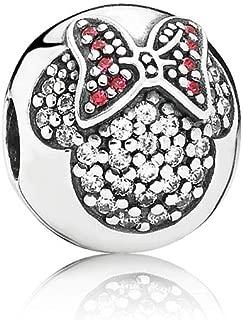 Disney Minnie Pave Multicolored Clip Charm 791450CZ