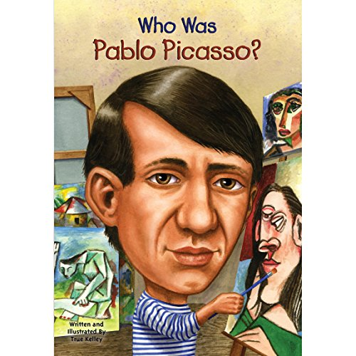 Who Was Pablo Picasso? audiobook cover art