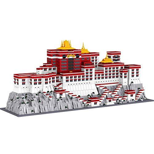 Building set, Architecture Model Building Kits, 3649 Pcs World Famous Palace Potala Palace 3D Construction Blocks,Christmas