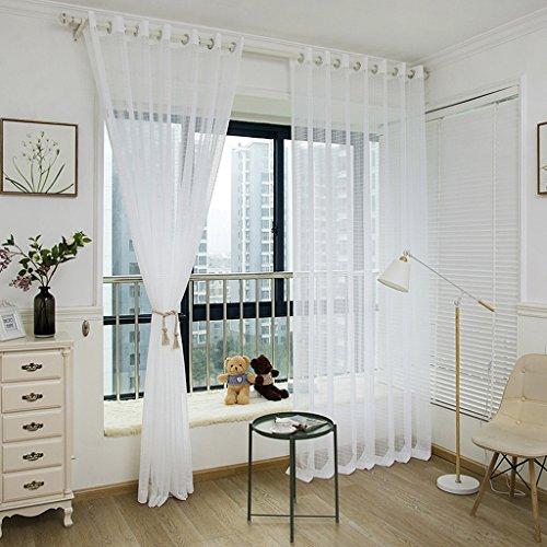 Met Love Fil à carreaux Dolly Fil Ingénierie Fil et tissage Hôtel Balcon Salon Spécial 2 Panneaux (taille : L:1.5*H:2.7m)