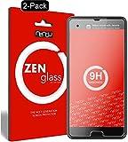 ZenGlass [2 Stück Flexible Glas-Folie kompatibel mit HTC U