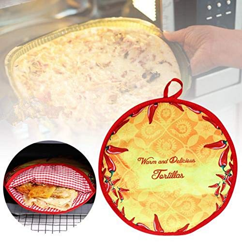 Hete-supply Magnetron Oven Lunch Bag, Tortilla Pancake Warmer Pouch, Warmte behoud zakje, Voedsel Isolatie Zakken, 11.4 in