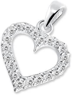 Femme plaqué or Love Coeur Zircone Creux maman Anneaux Love Fête Mères bijoux