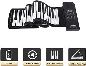 fosa Portable 61-Keys Roll up Soft Silicone Flexible Electro