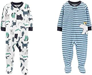 Boys' 2-Pack Fleece Pajamas