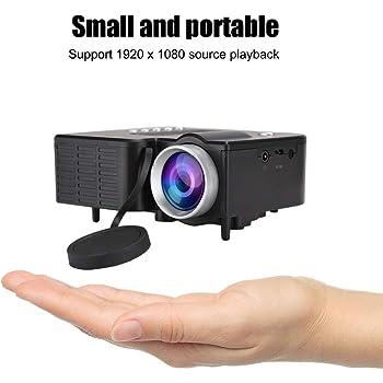 Mini proyector, 1920X1080 Full HD Mini proyector portátil ...