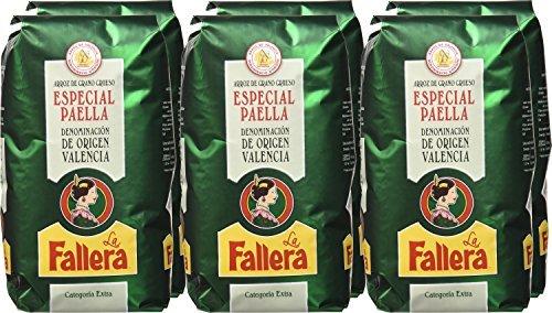 Lote 3 Kg. arroz La Fallera Especial Paella D.O Valencia