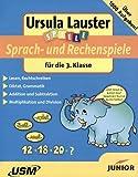 Sprach und Rechenspiele 3. Klasse (PC+MAC) - Ursula Lauster