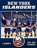 New York Islanders Calendar 2021-2022: 16-Month NHL Superstars Agenda Diary For Home, Desk Supplies