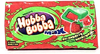 Strawberry Watermelon Hubba Bubba Max 10 Pcs. (Pack of 1)