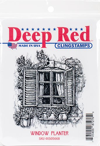 Deep Red Stamps–Sello, 10.66X 13,97X 0,86cm