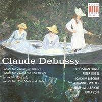 Claude Debussy: Sonate; Syrinx (2000-01-11)