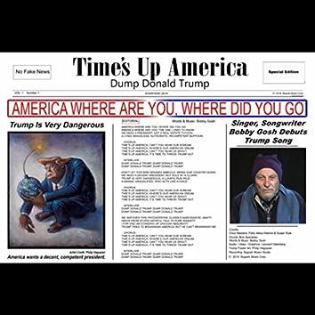 Times up America (Dump Donald Trump)