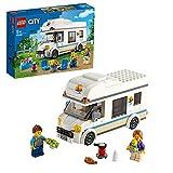 LEGO City Camper delle Vacanze Giocattolo, Costruzioni per Bambini, Playset per le Vacanze Estive, 60283