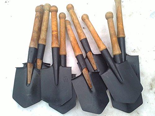 Original USSR Military small infantry Soviet Army sapper shovel 1984 year