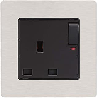 JUNKAI Power Outlet Panel Wall Plate Plug Durable Power Point GPO with Switch