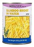 Songyou Germogli di Bambù a Strisce - 567 gr