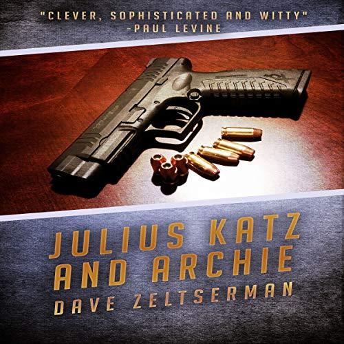 Julius Katz and Archie audiobook cover art