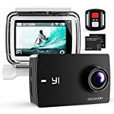 YI Action Camera, Discovery 4K WiFi Underwater Camera Touchscreen Sports Action Cam, Come with Remote, 40m Waterproof Case, 2 Rechargeable Batteries and Multiple Mounting Accessories Kits
