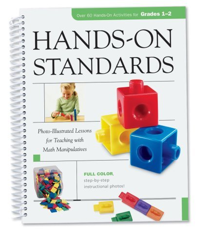 Learning Resources Hands-On Standards: Photo-Illustrated Lessons for Teaching with Math Manipulatives, Grades 1-2