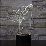 Farbe Nachtlicht kreative Lichtgradienten visuelle Karate...