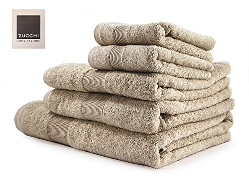 Juego de toallas de baño de la marca Zucchi MEJOR VALORADO