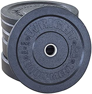 wright equipment bumper plates