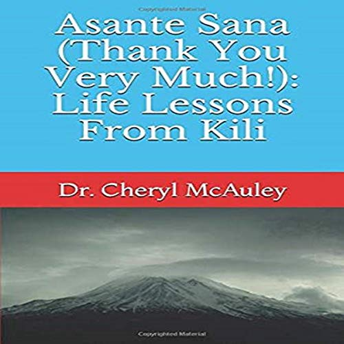 Asante Sana (Thank You Very Much!) audiobook cover art