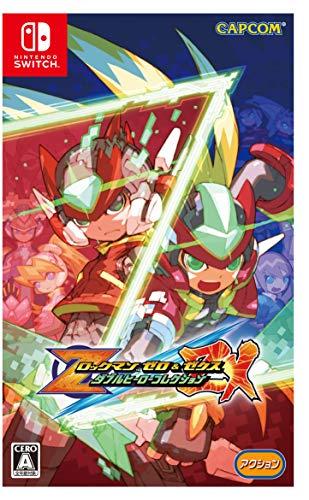 ロックマン ゼロ&ゼクス ダブルヒーローコレクション -Switch 【Amazon.co.jp限定】オリジナルデジタル壁紙...