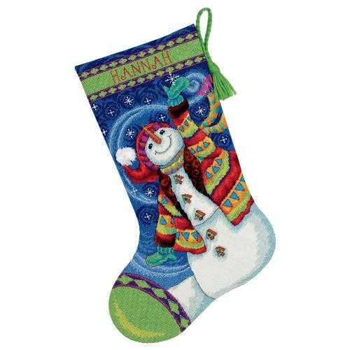 Dimensions Christmas Stocking Kits.Needlepoint Christmas Stocking Kits Amazon Com
