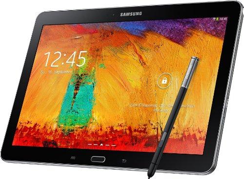 Samsung Galaxy Note 10.1 2014 Edition Tablet (25,7 cm (10,1 Zoll) Touchscreen, 3GB RAM, 8 Megapixel Kamera, 16 GB interner Speicher, LTE, Android 4.3) schwarz
