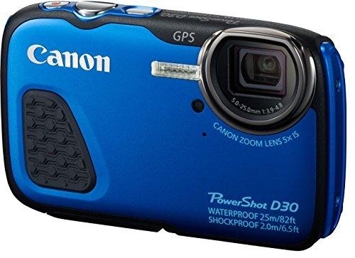 Canon PowerShot D30 - Cámara digital (Auto, Nublado, Modos personalizados, Luz de día,...
