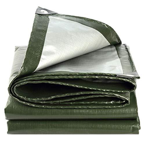 RY Espesar Lona/Techo casero Impermeable Protector Solar Cubierta de Tela Aislante/Sombra de Sol Plástico Lona plástica/Pabellón de Lona Lonas de Lona (Color : A, Size : 6x6m)