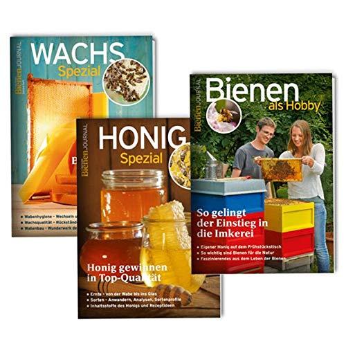 Grundlagen-Set: Grundwissen für Imker: mit den Bienenjournal Spezialheften Honig, Bienen als Hobby, Wachs