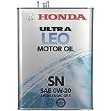 Honda(ホンダ) エンジンオイル ウルトラ LEO SN/GF-5 0W20 4L 08217-99974 [HTRC3]