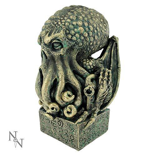 Nemesis Now 17cm Figurine Cthulhu-Figur, 17 cm, grün, Einheitsgröße