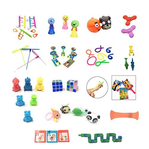 Juego De Juguetes Sensoriales Fidget, 50 Piezas De Juguetes Sensoriales Para Autismo, Tdah, Alivio Del Estrés, Juguetes Anti-ansiedad Alivia El Estrés Y La Ansiedad Fidget Toy
