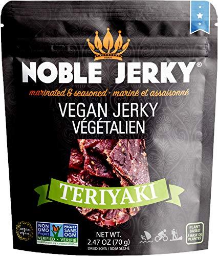 Noble Jerky - Vegan Jerky Teriyaki - 2.47 oz.