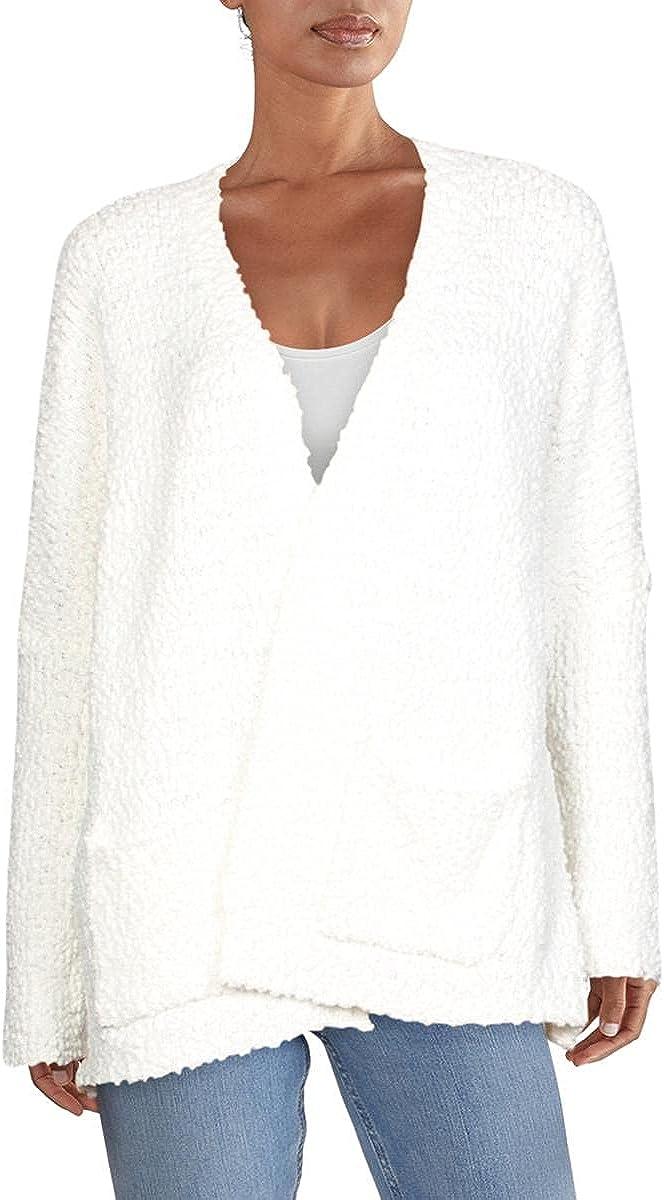Cupio Womens Dolman Sleeves Open Front Cardigan Sweater